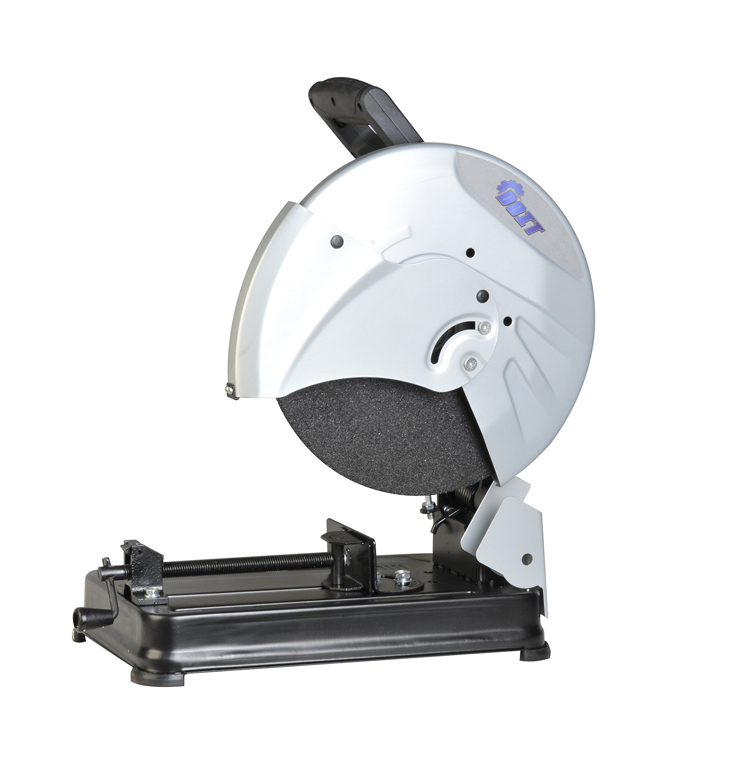 Doit 15-Amp 14-Inch Cutting Off Machine ( Ergonomic D style Handle with Soft Grip and No Load speed of 3700/min )