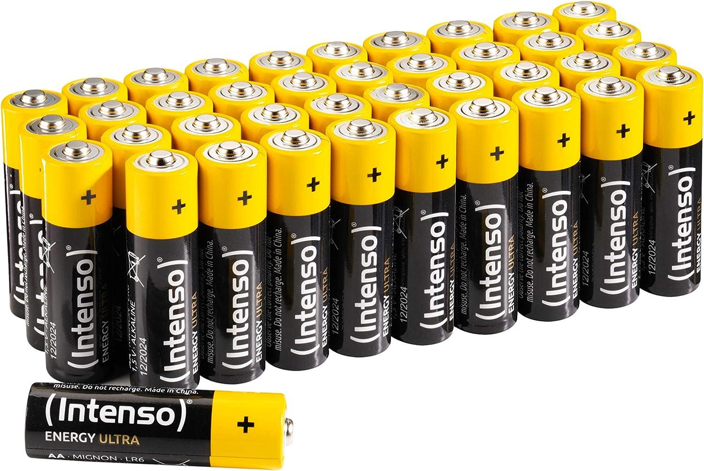 Intenso Energy Ultra Aa Mignon Lr6 Alkaline Batterien Elektronik
