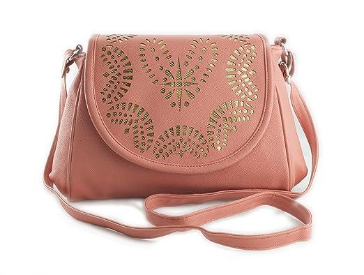Voaka Women's Sling Bag (Orange,Boxsling): Amazon.in: Clothing ...