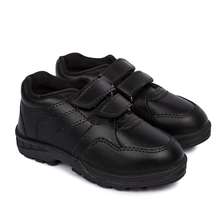 Feet Essentials Boy s Black Velcro School Shoe  Buy Online at Low ... fde09ccb3