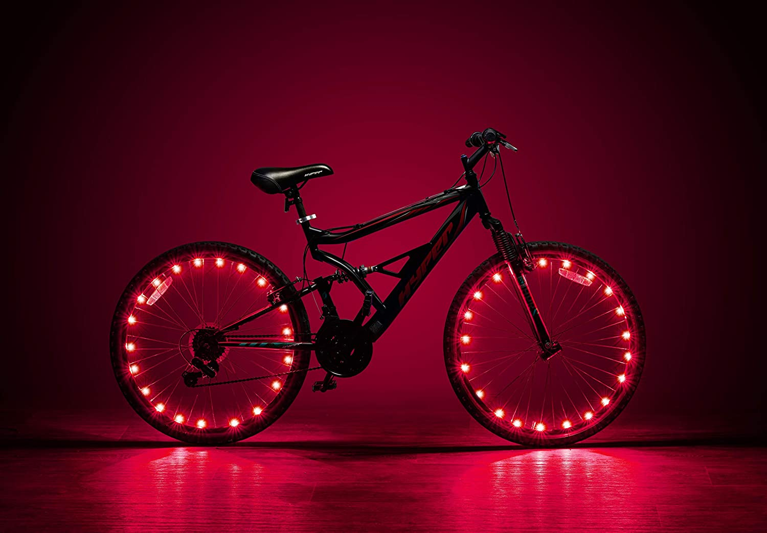 LED Bike Wheel Lights – 2 Tire Pack Waterproof Tire Lights Very Bright Tire Lights – Perfect for Safety and Fun for Kids and Adults