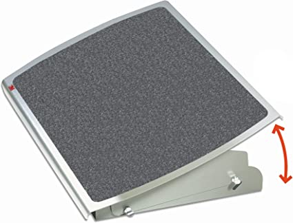 Replacement for PARTS-FR330 Adjustable Foot Rest Grey