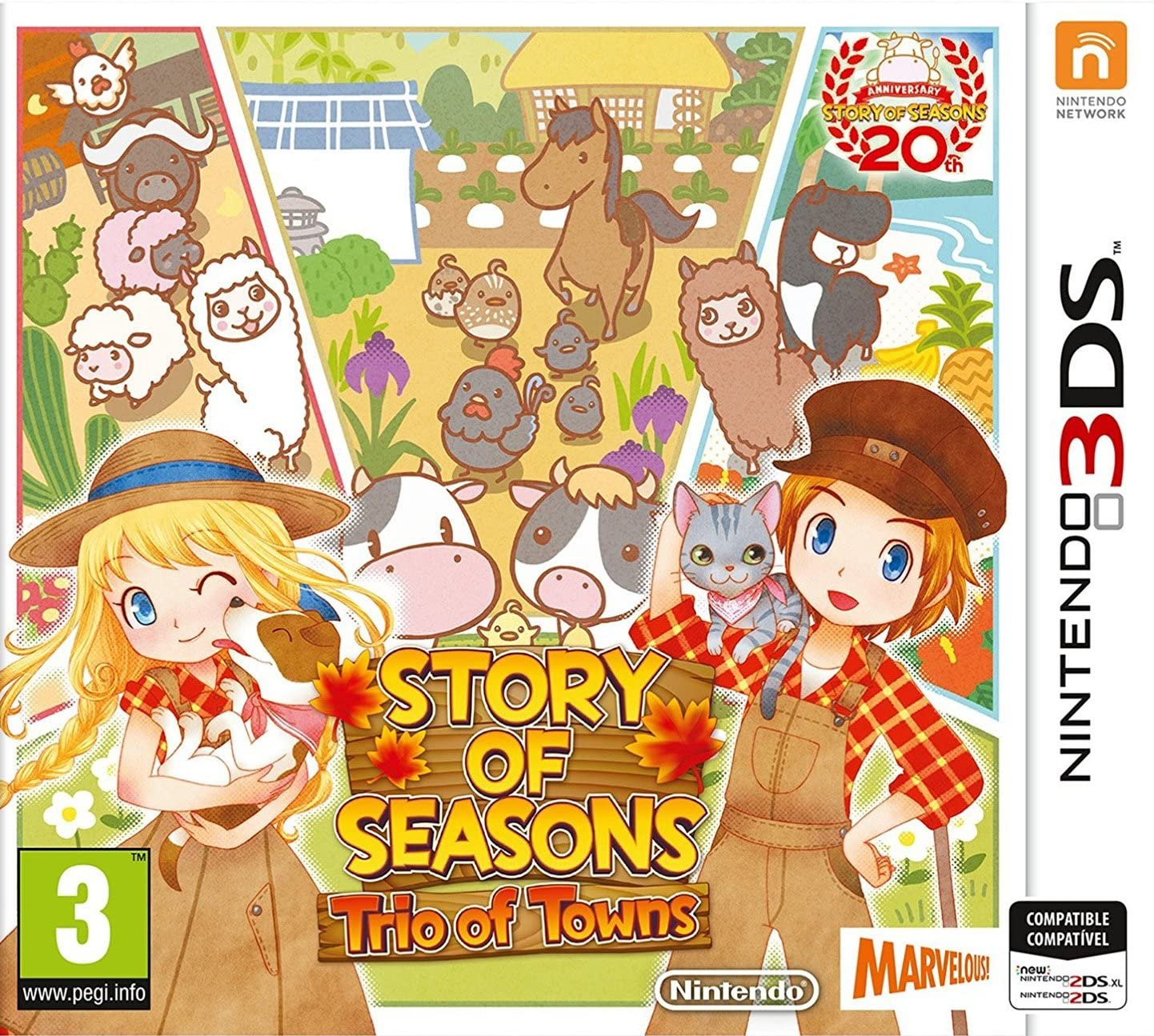 Story Of Seasons: Trio Of Towns [Modelo antiguo]: Amazon.es: Videojuegos