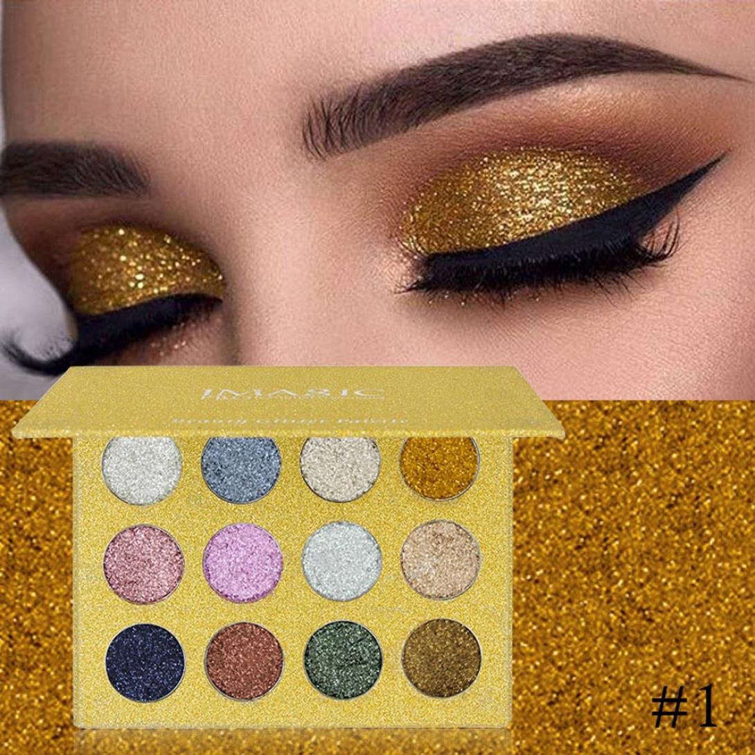 Amazon Newpro Eyeshadow Palette Powder Zyooh 12 Colors