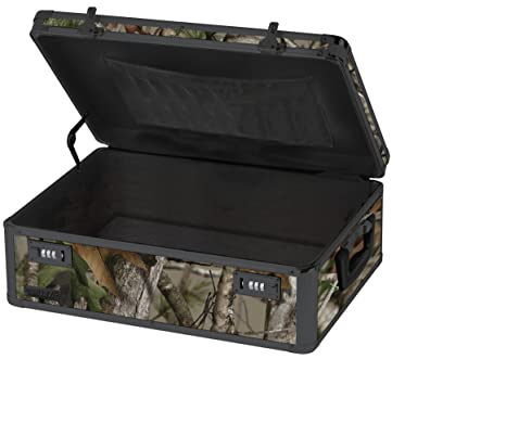 Charmant Vaultz Locking Storage Chest, 6.5 X 19 X 13.5 Inches, Next Camo Green (