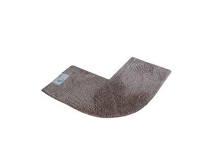 Cazsplash lusso quadrante tappetino doccia angolare cotone pietra