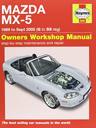 mazda mx 5 service and repair manual 1989 2005 haynes service and rh amazon co uk 2000 Miata 1997 Miata