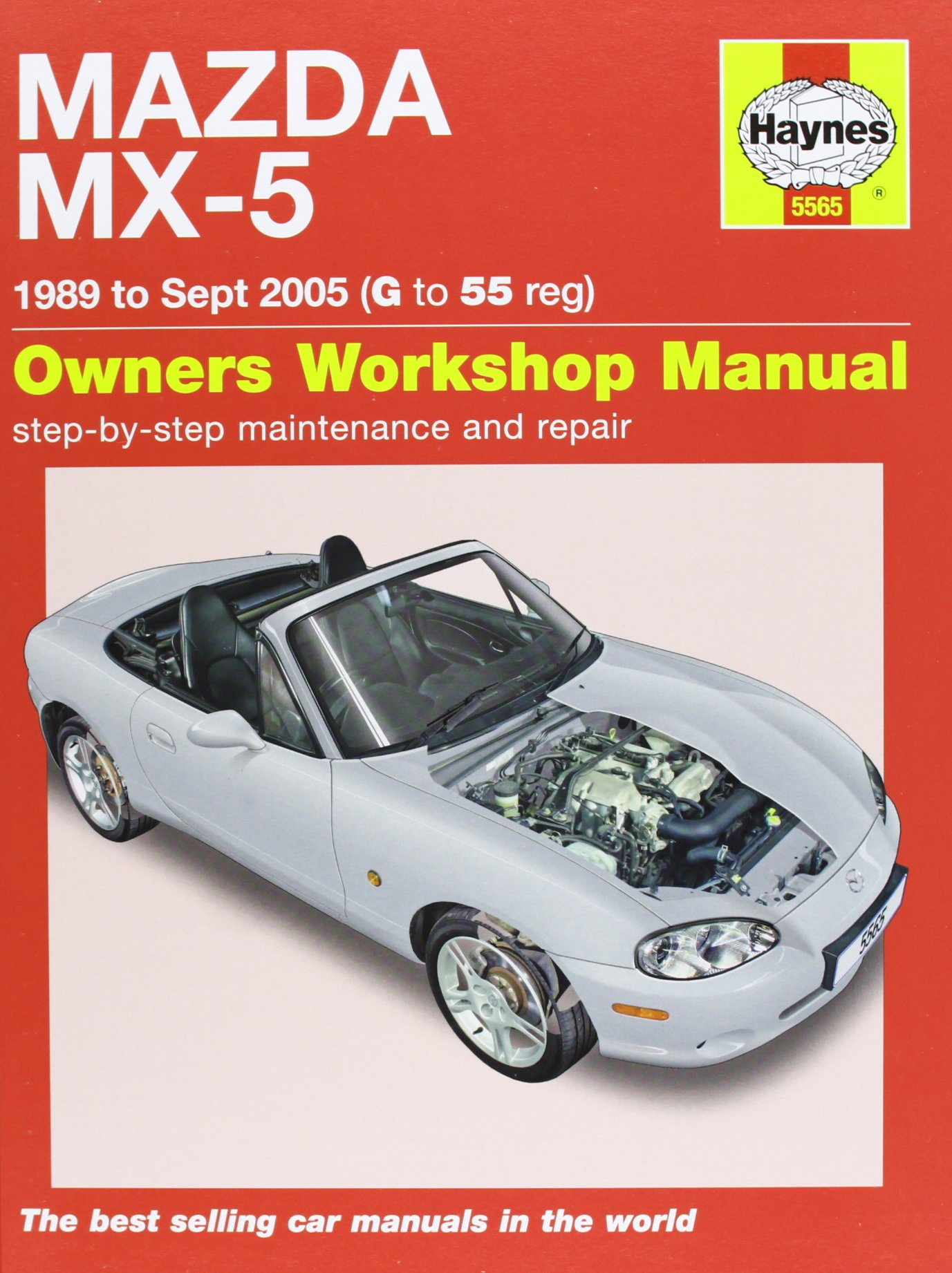 Mazda MX-5 Service and Repair Manual: 1989-2005 (Haynes Service and Repair  Manuals): Martynn Randall: 9780857335654: Amazon.com: Books