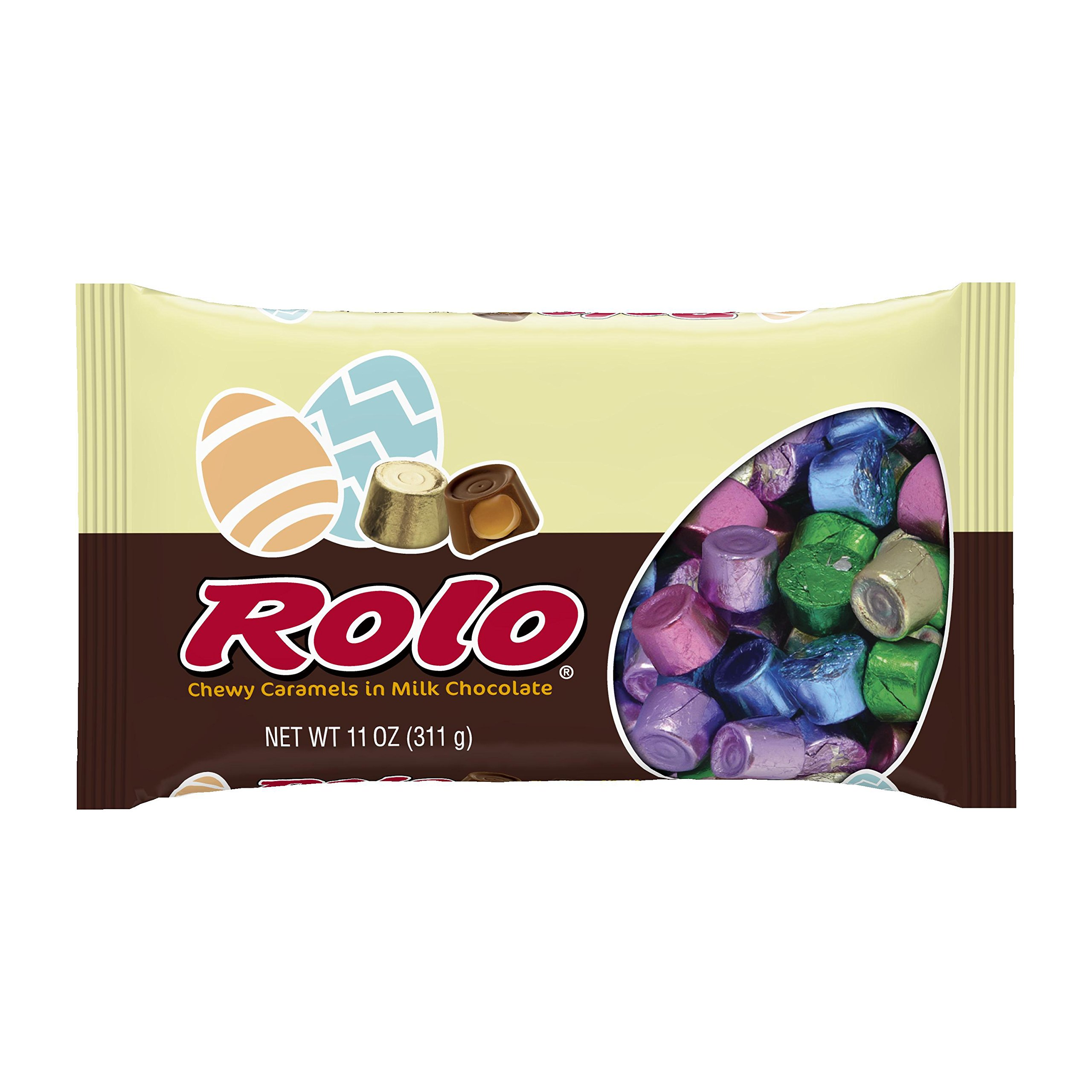 ROLO Easter Chewy Caramels in Milk Chocolate (11-Ounce Bag, Pack of 4) by Rolo