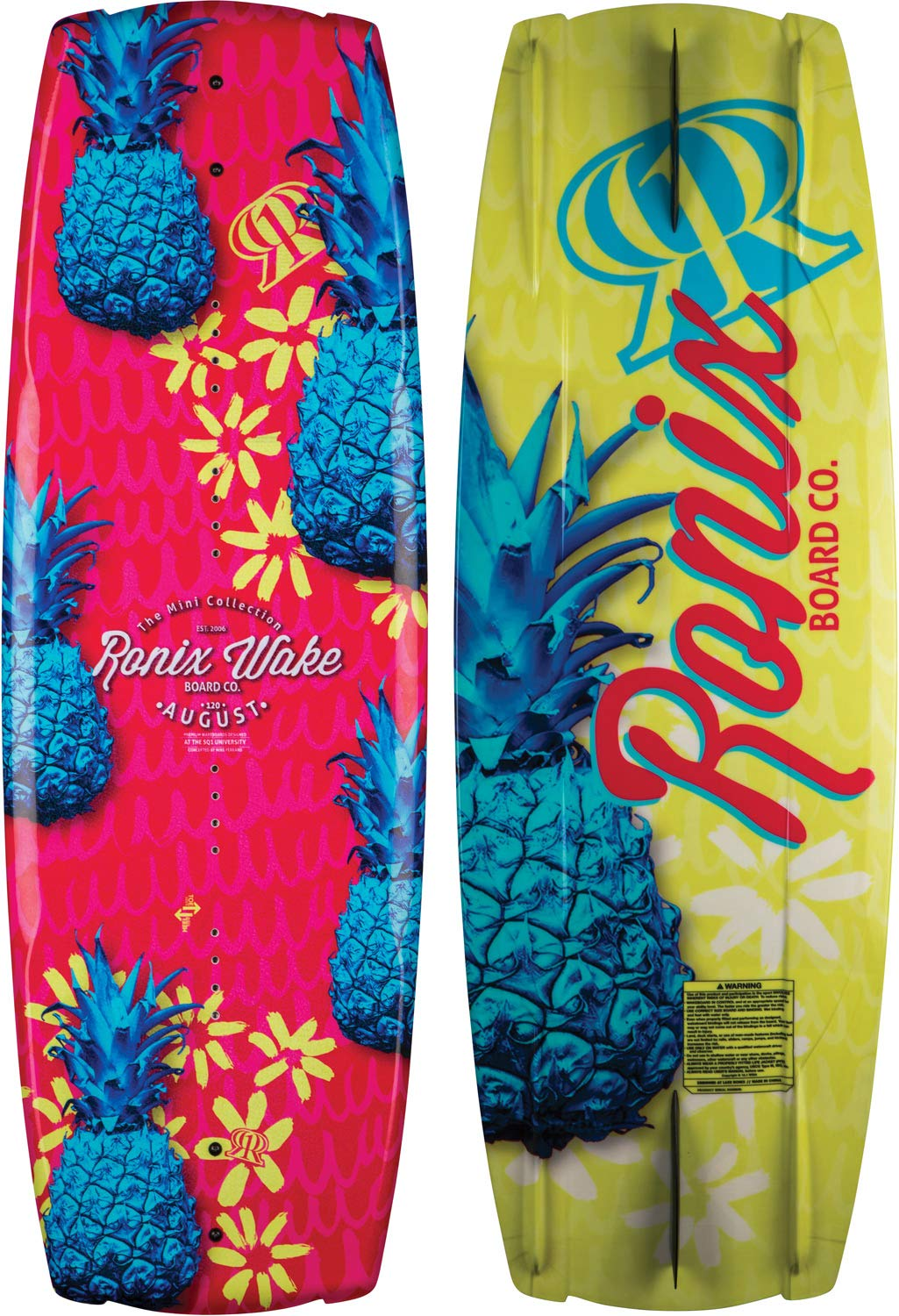 Ronix Blemish Model August Wakeboard - Pink//Tropical Express - 120 2018