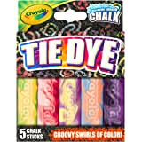 Crayola Special Effects Sidewalk Chalk - Tie Dye (5 Chalk Sticks)