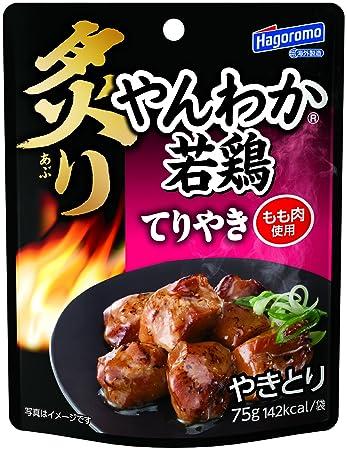 Amazon Hagoromo Yanwaka Young Chicken Teriyaki Pouch 75g