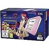 Console Nintendo 2DS - rose/blanc + La Nouvelle Maison du Style 2 Préinstallé