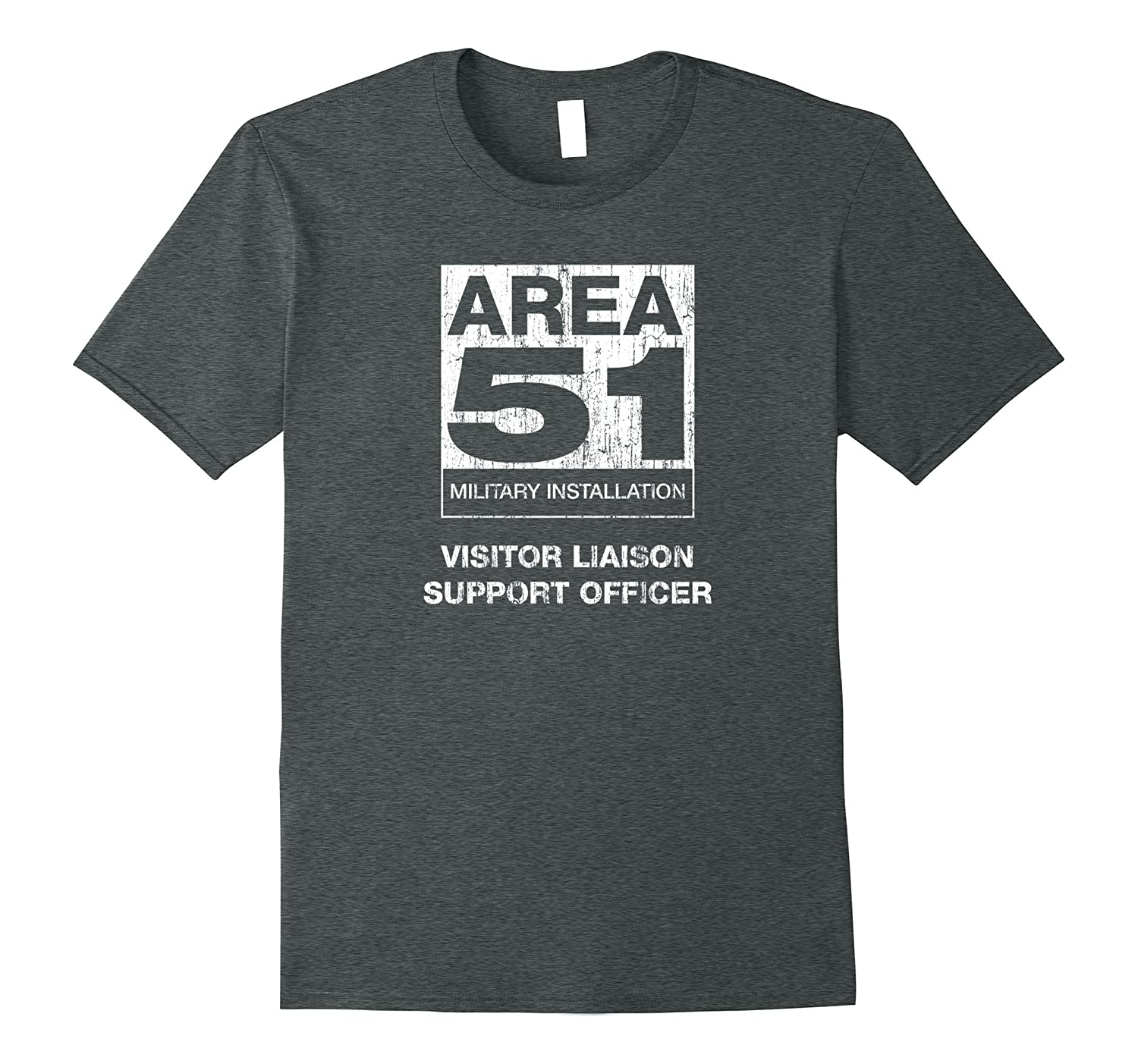 Area 51 Visitor Liaison Officer T Shirt-TH