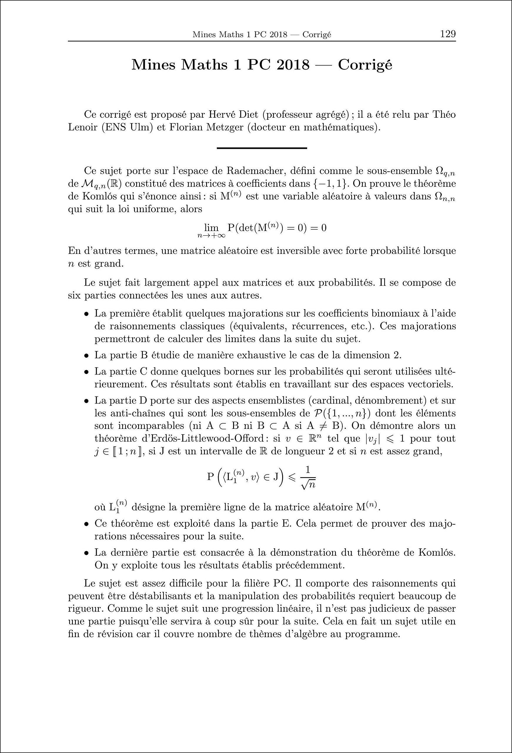 Mathématiques, Informatique PC (Annales des concours): Amazon.es: Collectif, William Aufort, Benjamin Monmege, Vincent Puyhaubert: Libros en idiomas ...