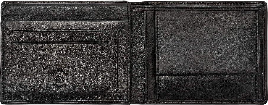 MEN/'S LEATHER WALLET BIFOLD Plain ID Credit Card Coin Holder Front Pocket