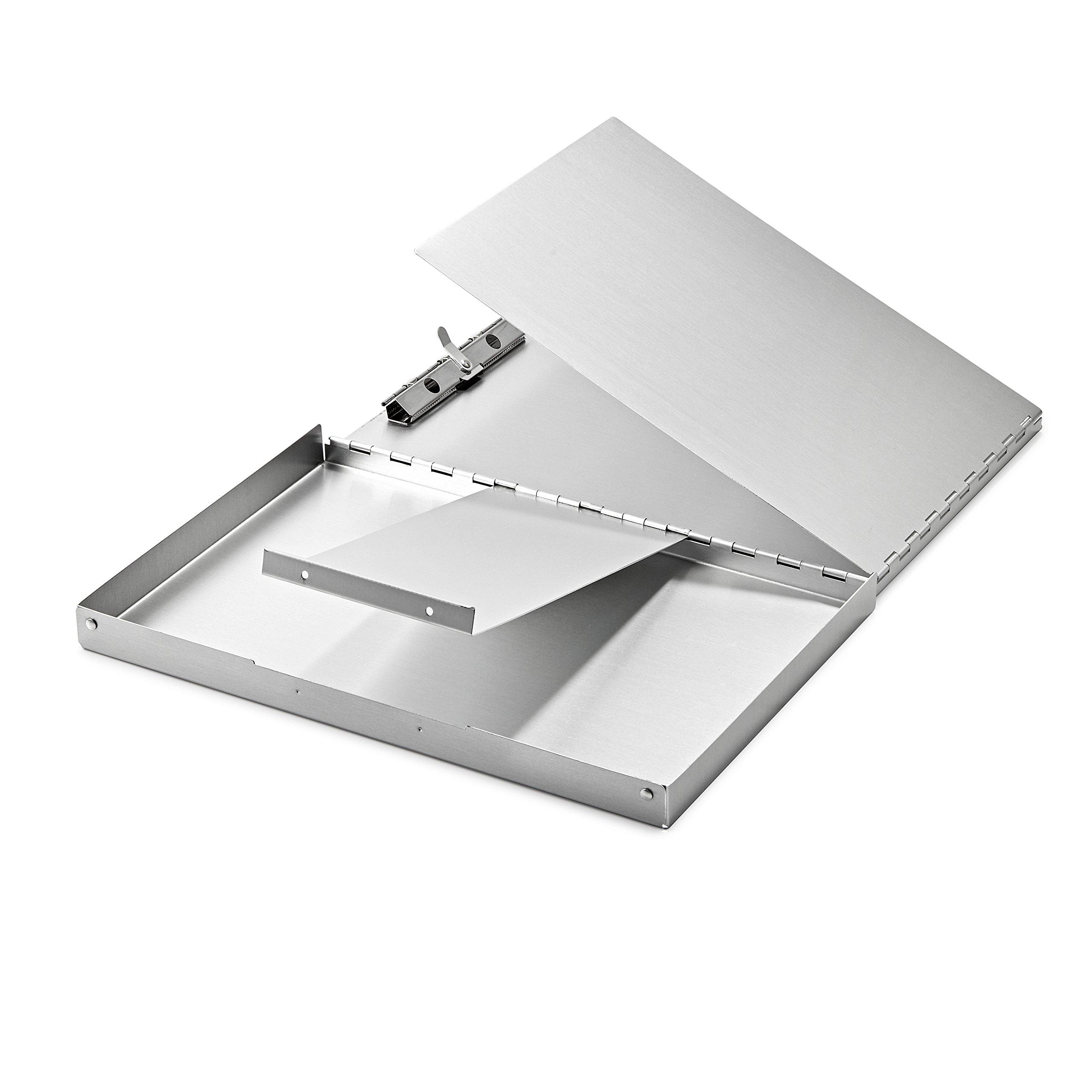 AdirOffice Aluminum Snapak Form Holder - Clipboard (12.75'' x 9'')