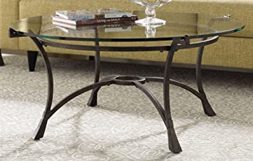 Astounding Hammary Sutton Round Cocktail Table Dailytribune Chair Design For Home Dailytribuneorg