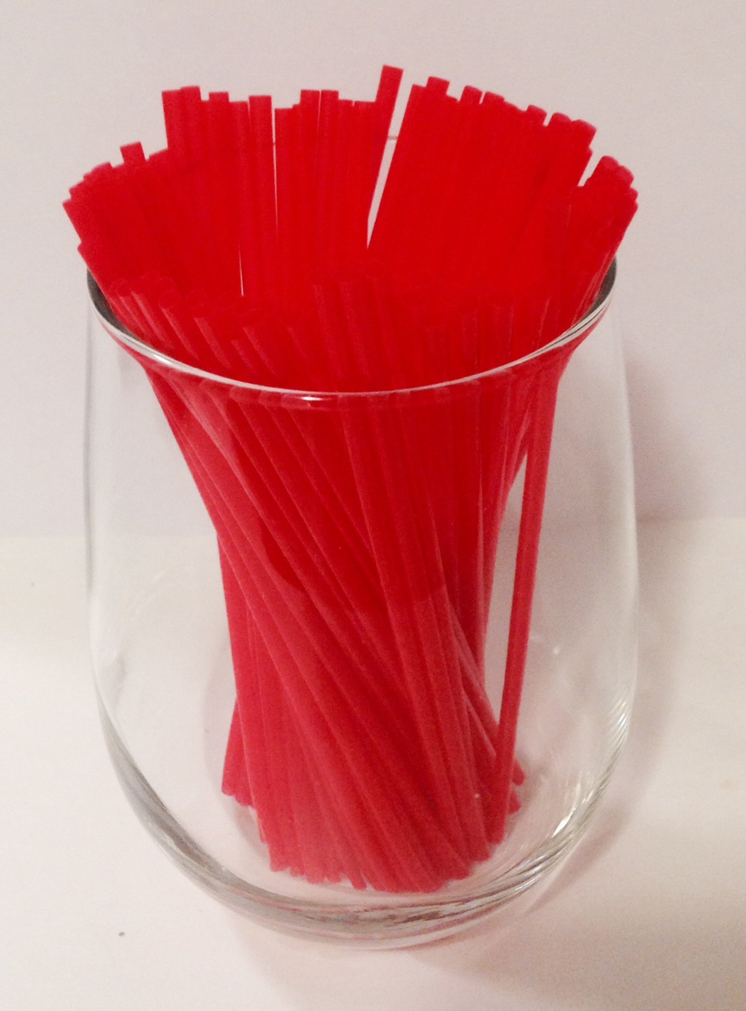 RED Coffee and Cocktail Stirrer Straws 5000 Ct. Beverage Bar Restaurant Deli