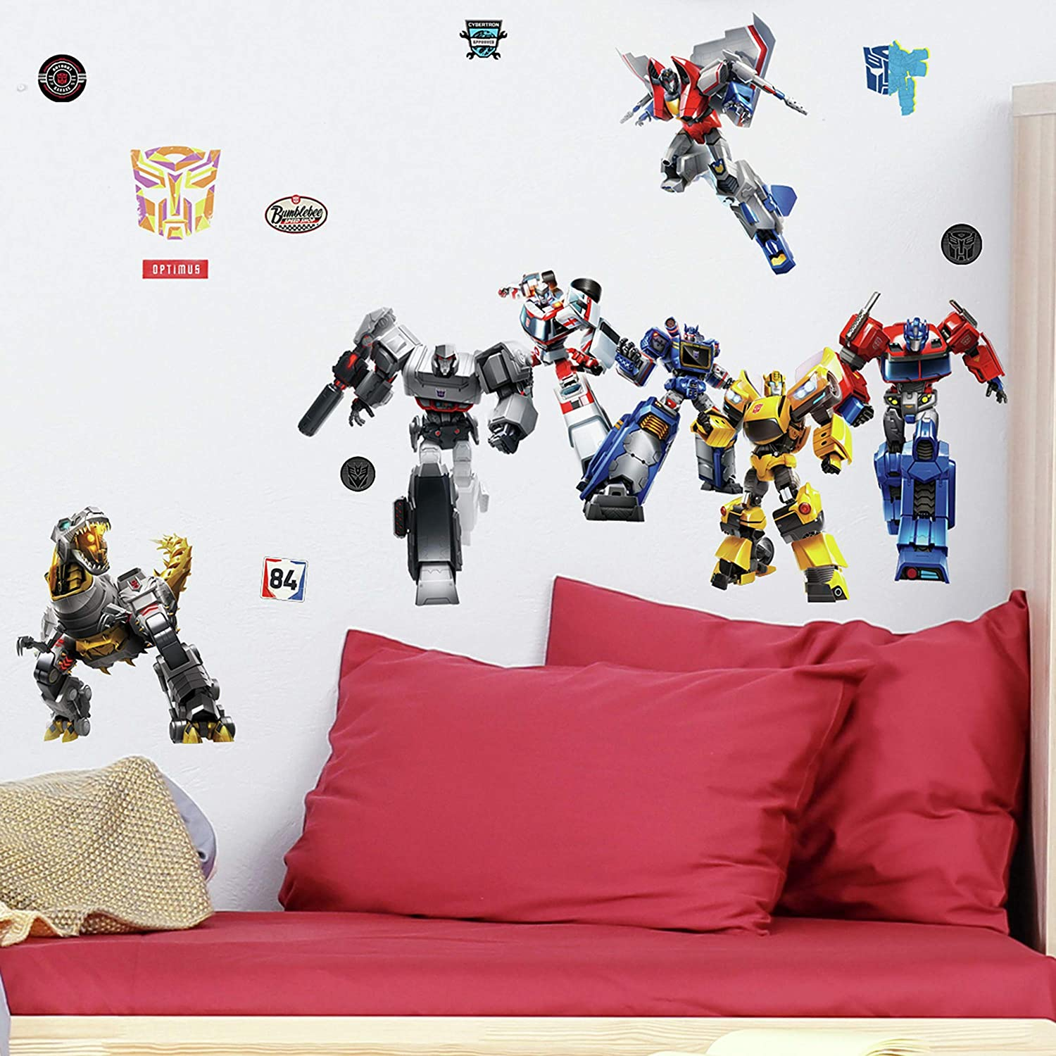 RoomMates Transformers All Time Favorites Peel and Stick Wall Decals