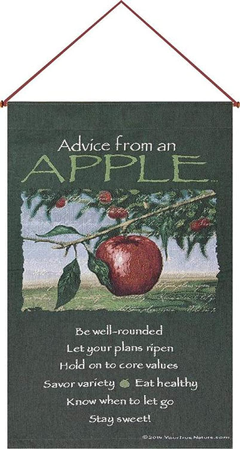 Manual Advice from an Apple Wall Hanging Banner