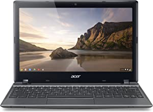 Acer C710-2833 11.6-Inch Chromebook - Iron Gray (16GB SSD)