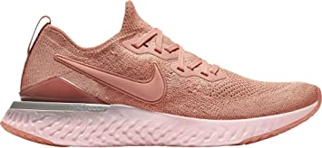 Específicamente conductor Garganta  Amazon.com: Nike Epic React Flyknit 2 Zapatillas de running para hombre  (oro rosa, 12 D(M) US): Electronics