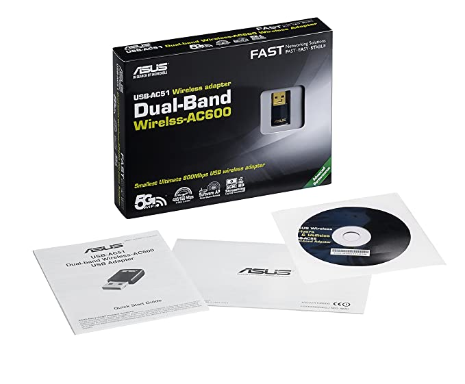 Asus USB-AC51 USB Wireless adapter Drivers Download (2019)