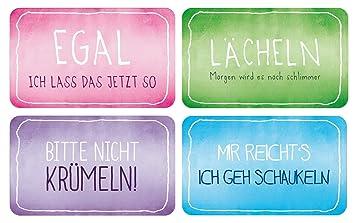 brettchen sprüche Bada Bing 4er Set Brettchen bunte Funny Serie lustige Sprüche  brettchen sprüche