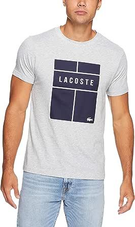 Lacoste Men's Tennis Court Logo Tee