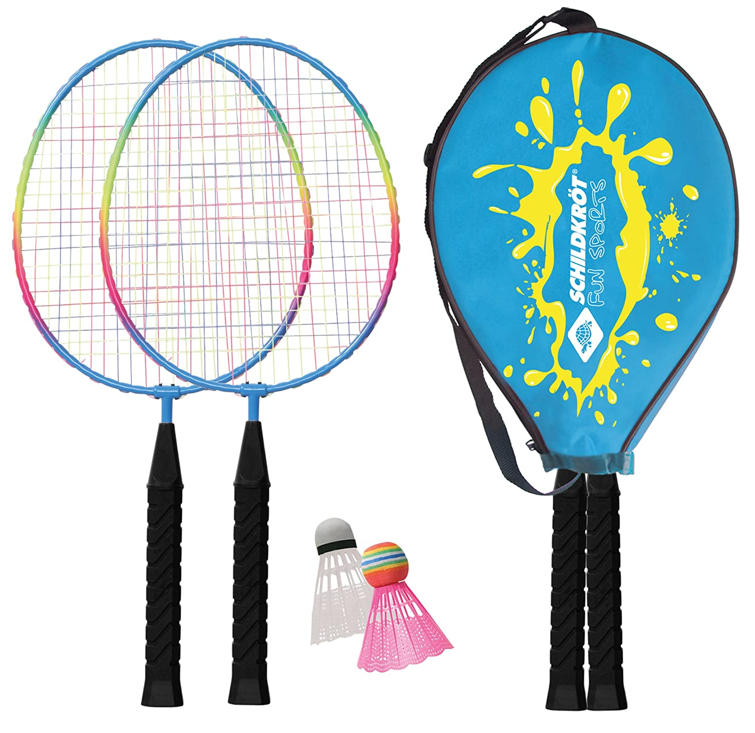 SCHILDKRÖT Badminton-Set JUNIOR im Headcover, 970901 Schildkrot Fun Sports