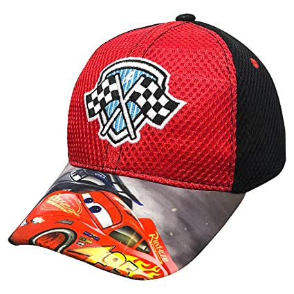 83f2cde5531 Amazon.com  Disney Cars 3 Toddler Baseball Cap Hat Mesh Jackson Storm  McQueen  Toys   Games