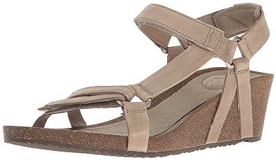 sale uk really comfortable where to buy Teva Women's W Ysidro Universal Wedge Sandal: Amazon.co.uk: Shoes ...