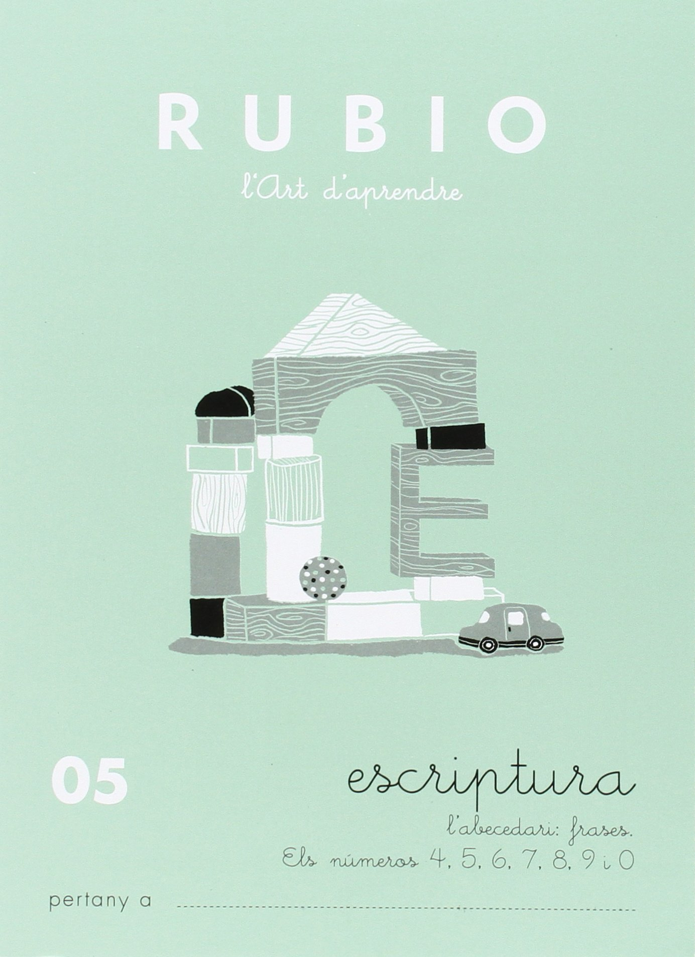 Rubio P-C05 CAT - Cuaderno escritura Escriptura RUBIO català ...