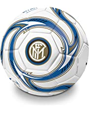 Mondo Sport - Pallone da Calcio cucito F.C. Inter Milano - size 5 - 410 g - Prodotto ufficiale - Colore Nero/azzurro/bianco - 13642