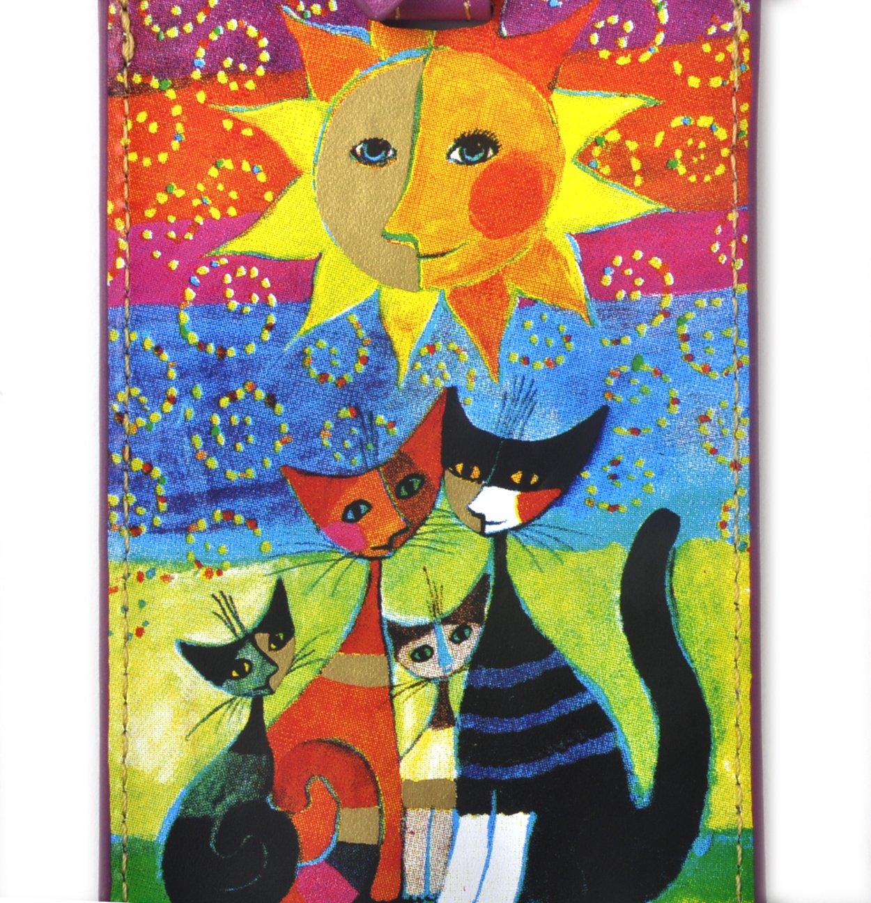 Multicolore 12 cm Fridolin /Étiquette//à/Bagage Wachtmeister Momenti di Felicita