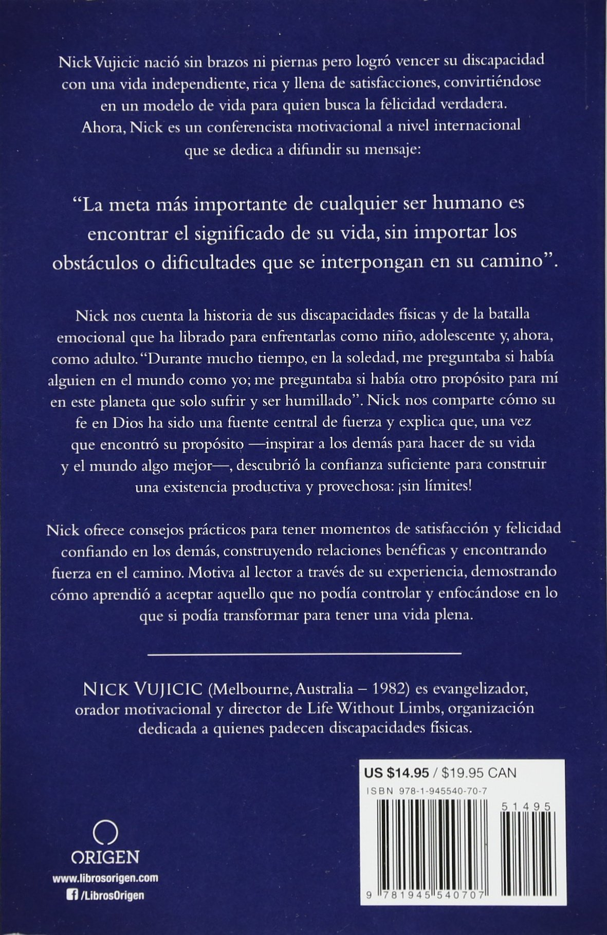 Una Vida Sin Límites Life Without Limits Amazon Co Uk