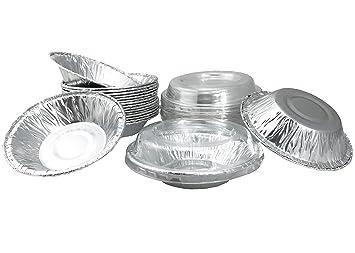 Aluminio Foil Mini pie sartenes 3 - 1/2