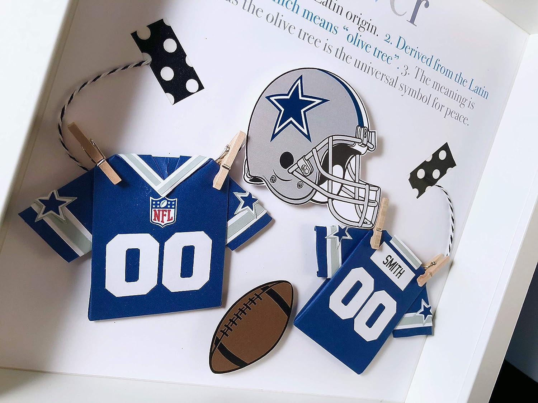 Amazon.com: Personalized Baby Boy Frame NFL Dallas Cowboys ...