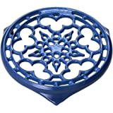 Le Creuset Enameled Cast-Iron 9-Inch Deluxe Round Trivet, Marseille
