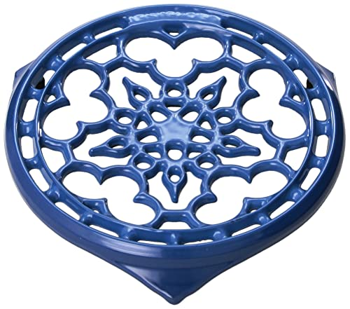Le Creuset N0200-59 Enameled Cast-Iron Deluxe Round Trivet