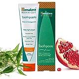 Himalaya Botanique Neem & Pomegranate Toothpaste, Original Formula for Brighter Teeth and Fresh Breath, 5.29 oz