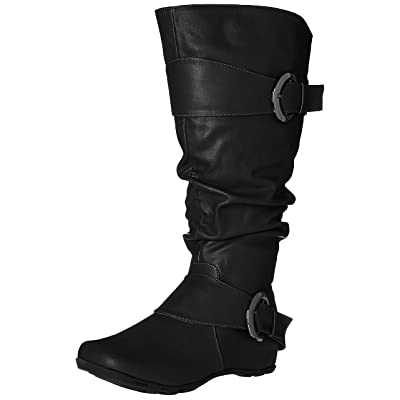 Brinley Co Women's Hilton-xwc Slouch Boot | Mid-Calf