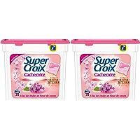 Super Croix Duo Cachemire Capsule Lessive 28 Doses - Lot de 2
