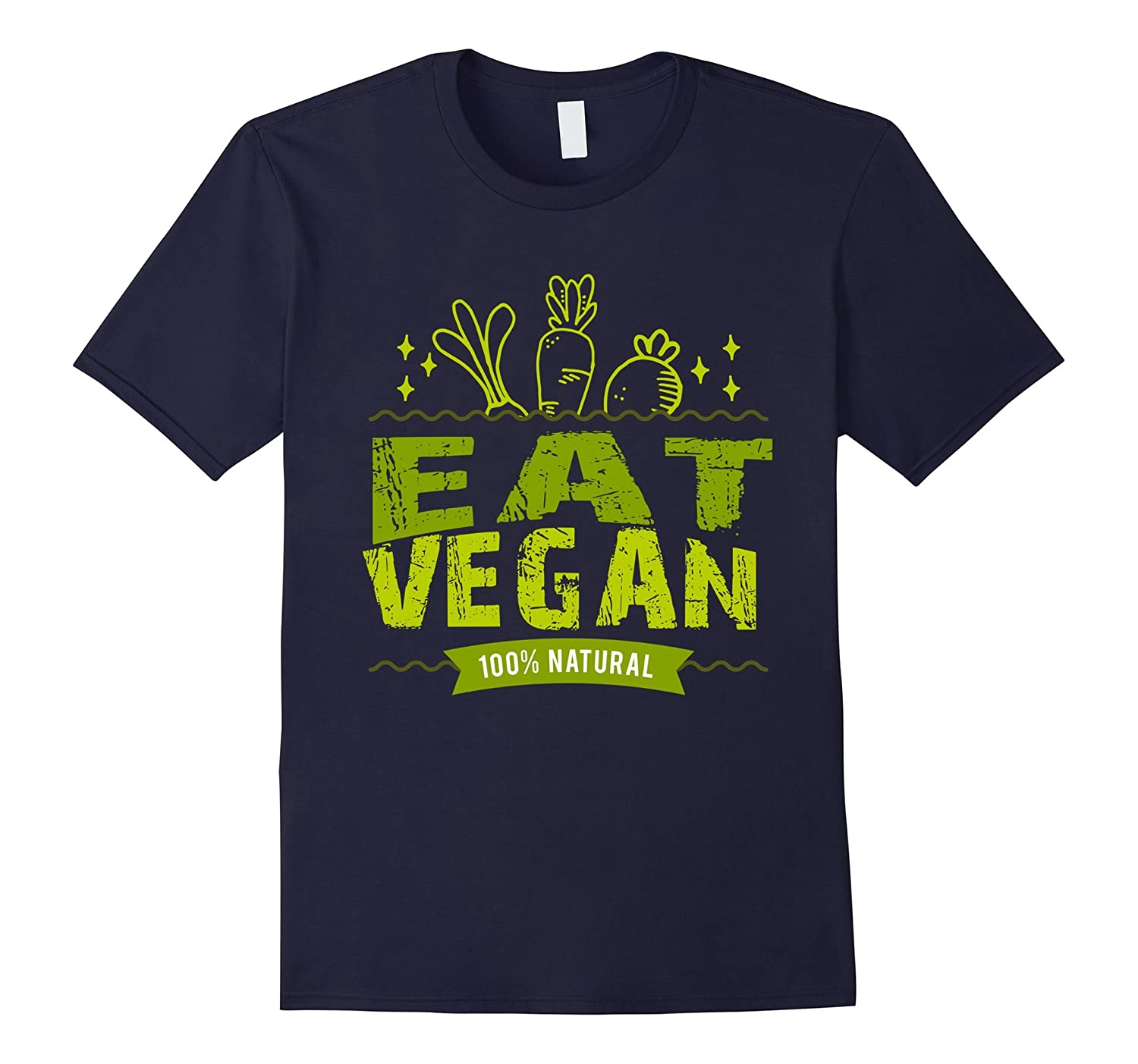 Eat Vegan T-Shirt-TD