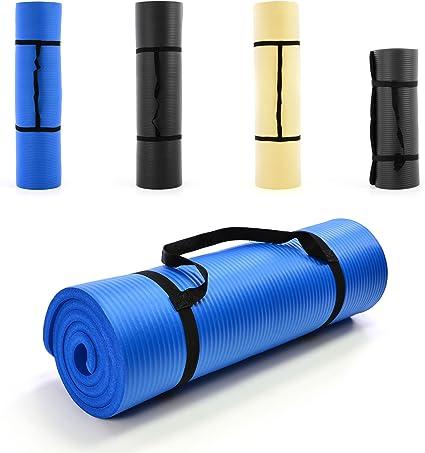 2cm Fitnessmatte Sport Yoga Pilates Unterlage 20mm extra dick Schaumstoff Matte