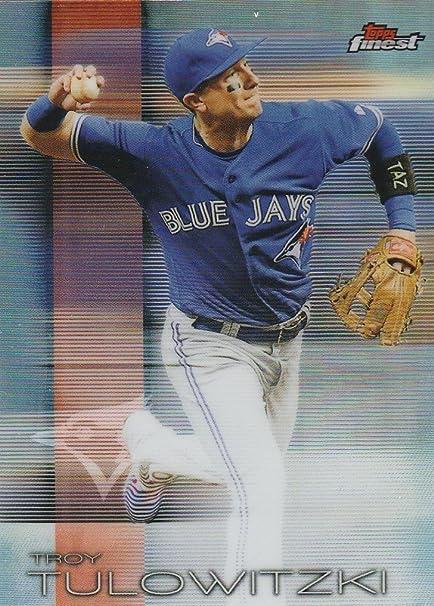 2016 Finest Refractors 29 Troy Tulowitzki Baseball Card At Amazons
