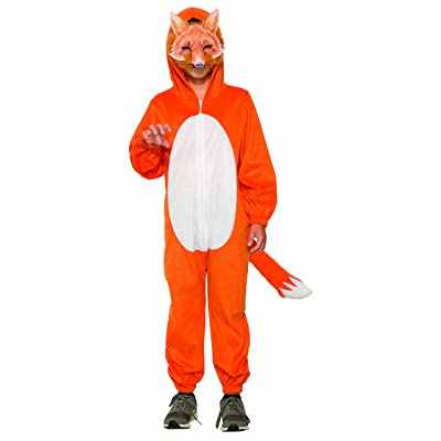 Childrens Fox Jumpsuit with Mask: Toys & Games