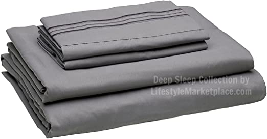 dark brown 3 sheet sets 1800 tc navy blue charcoal gray in king size