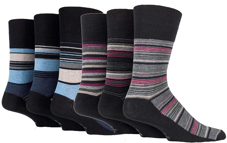 Drew Brady Mens Gentle Grip Non-Elastic Ankle Socks 6-11